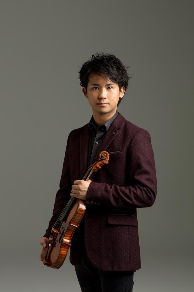 ヴァイオリン/三浦文彰<br>【撮影】Yuji Hori.tif